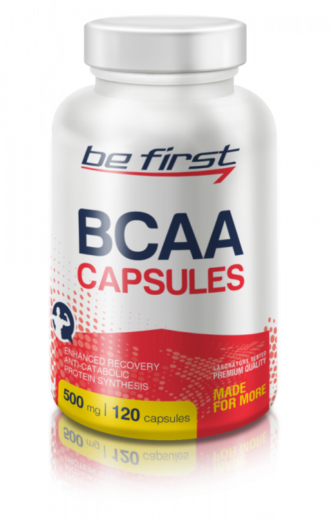 BCAA Capsules от Be First 120 капсул