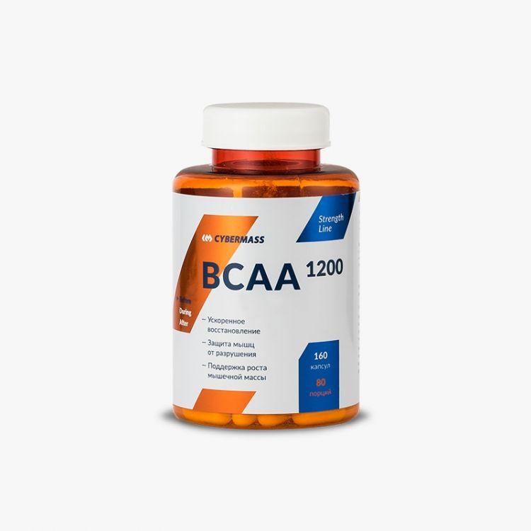 BCAA 1200 caps от CYBERMASS 160 кап