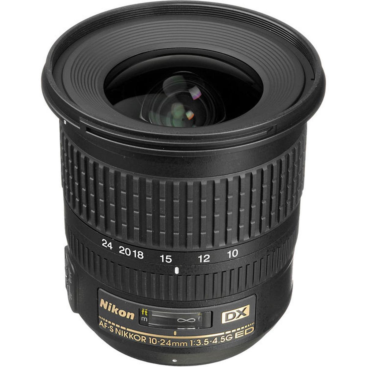 Nikon 10-24mm f/3.5-4.5G ED AF-S DX Nikkor