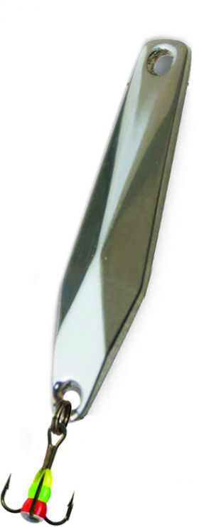 Блесна зимняя SWD ICE RHOMB (40мм, вес 4г, сереб, блист)