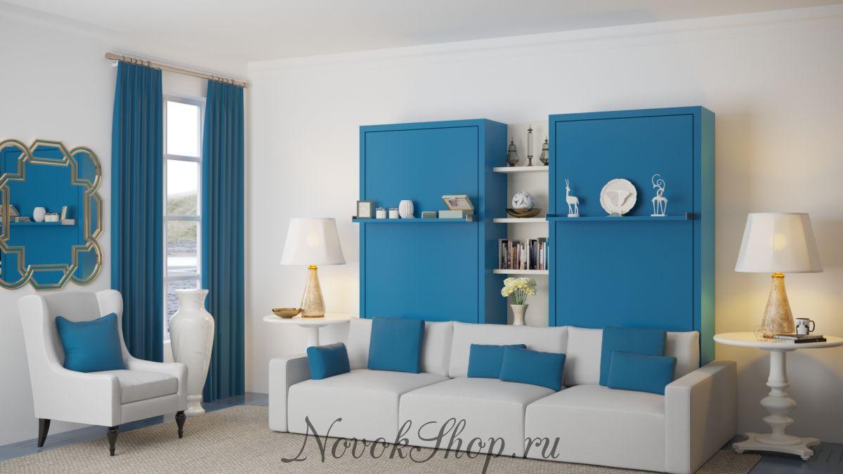 Шкаф-кровать для двоих ATOM TWINS