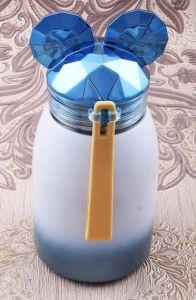 Термостакан Мышонок  (синий, 17 см)