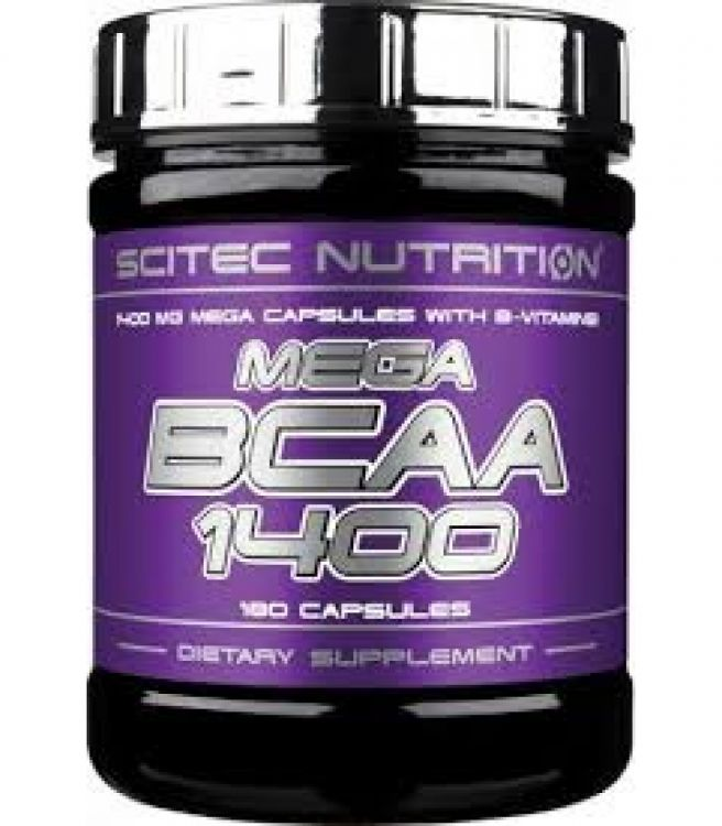 Mega BCAA 1400 от Scitec Nutrition 180 кап