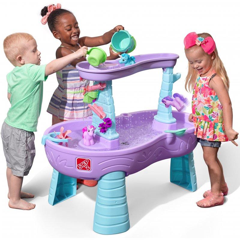 Стол для игры с водой Дождь Единороги Step2 487299