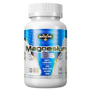 Magnesium B6 от Maxler 120 таб