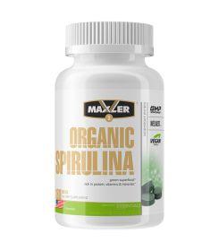 Organic Spirulina 500 мг от Maxler 180 таб