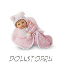 Игровая кукла Младенец  девочка в розовом -  Posturitas Pequeno, Испания