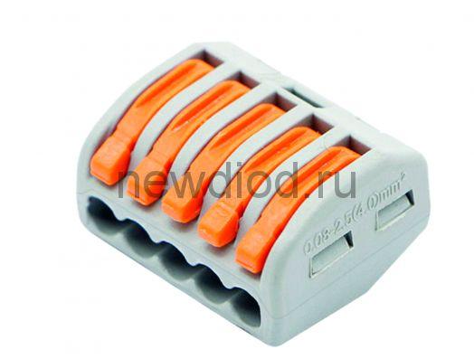 Строительно-монтажная клемма СМК 222-415 (25 шт./упак.) IN HOME
