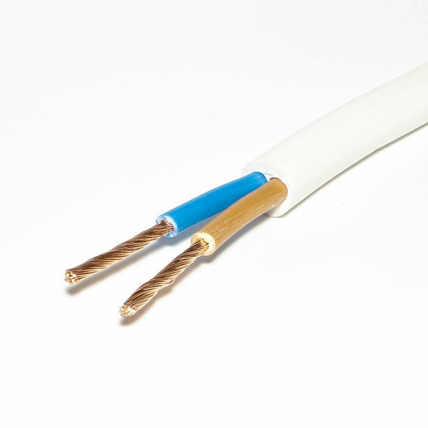 Провод ГОСТ круглый ПВС 2 х 2,5 мм