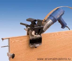 Ручная кромкооблицовочная машина 1,5кВт, макс.ширина облицовки 50 мм при толщине кромки 1 мм и ширина 25 мм при толщине 2 мм VIRUTEX AG98R 5200400