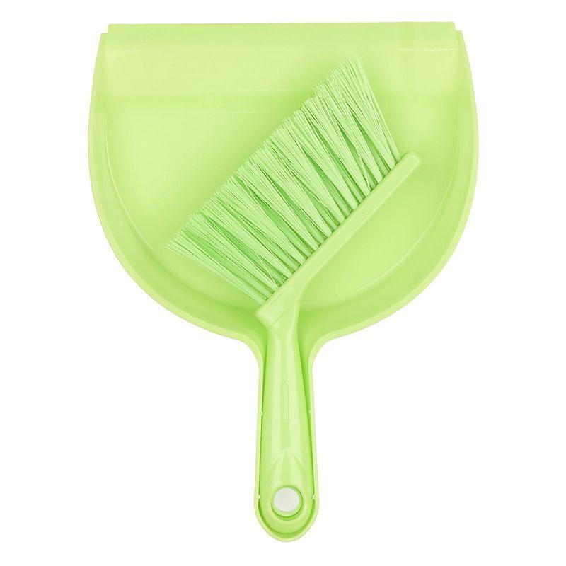 Мини совок с щёткой Dustpan Brush, Цвет Салатовый