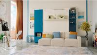 Шкаф-кровать с диваном и шкафом
