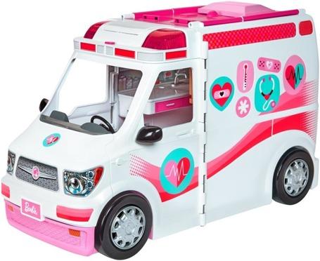 Барби и машинка скорой помощи FRM19
