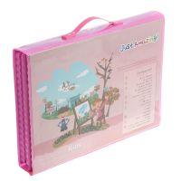 Набор для рисования со складным мольбертом в чемоданчике, Цвет Розовый_5