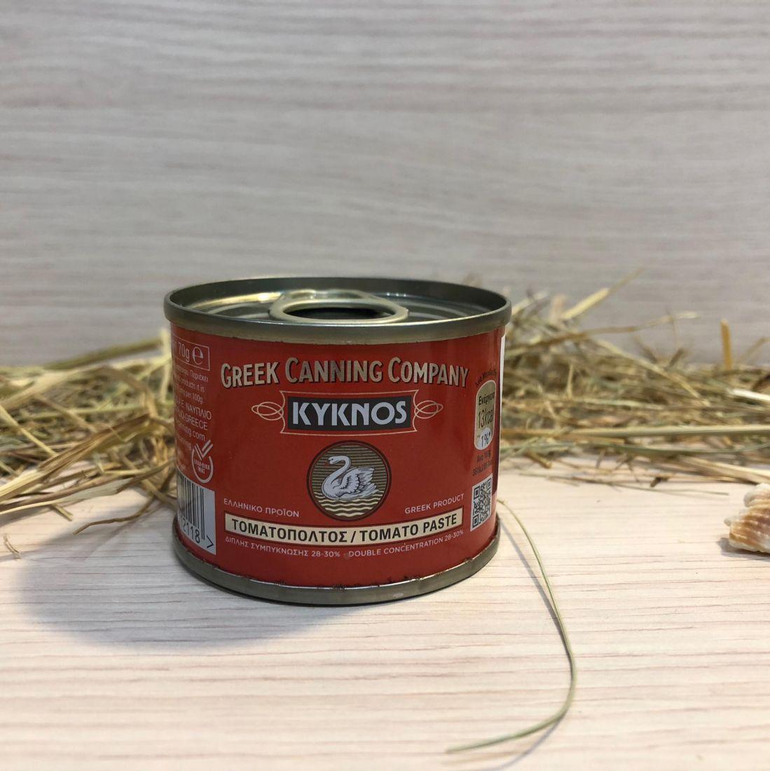 Паста томатная (28-30%) Kyknos