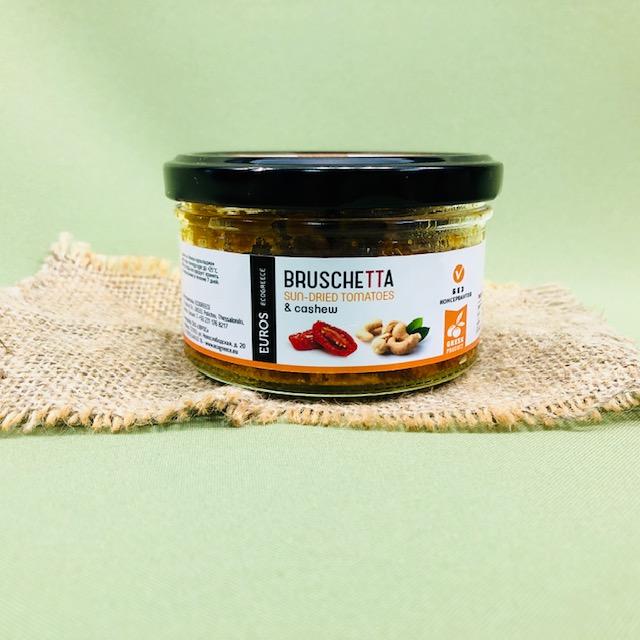 Брускетта из оливок ХАЛКИДИКИ с вяленым томатом - 150 гр