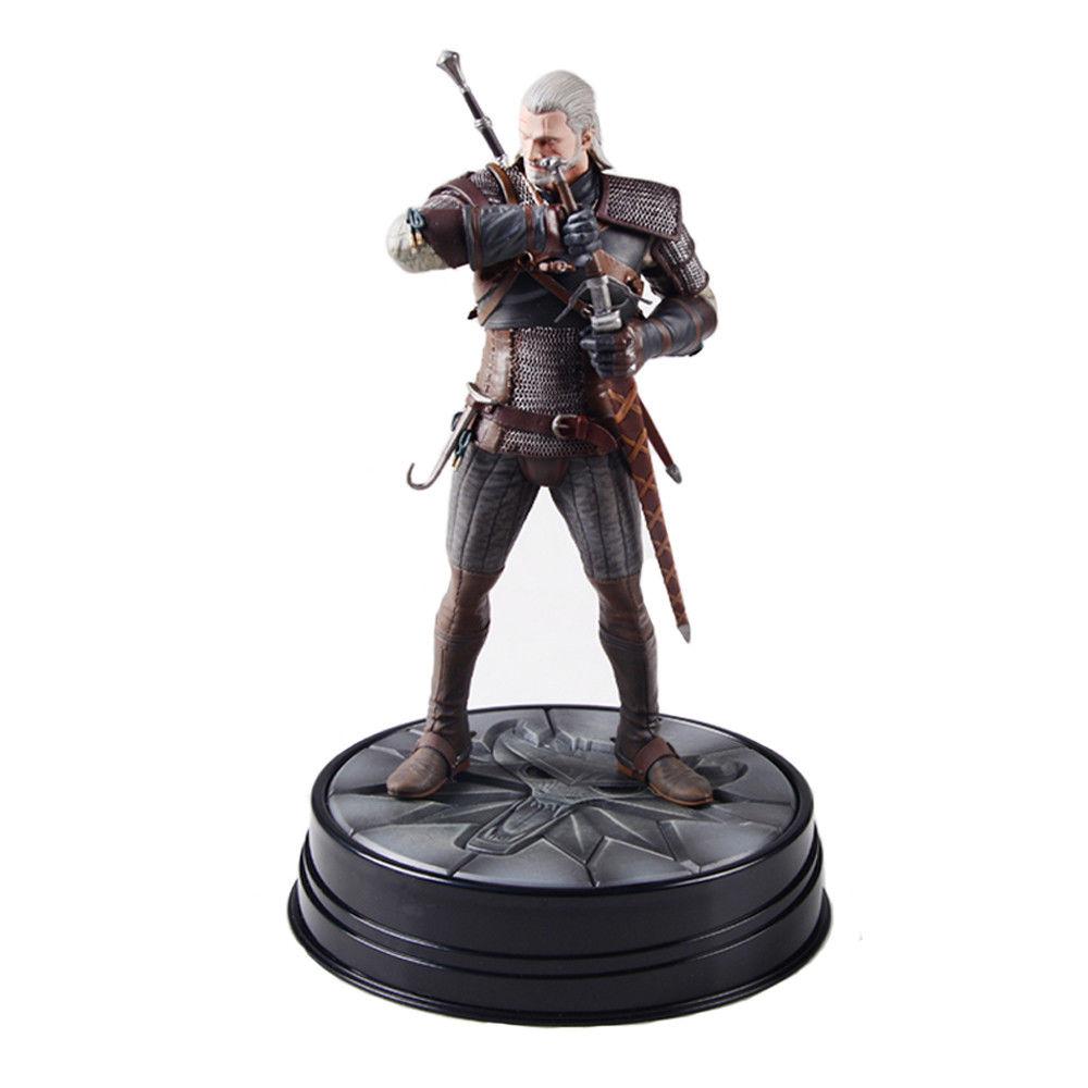 Фигурка Геральт - Ведьмак Дикая Охота Witcher Wild Hunt
