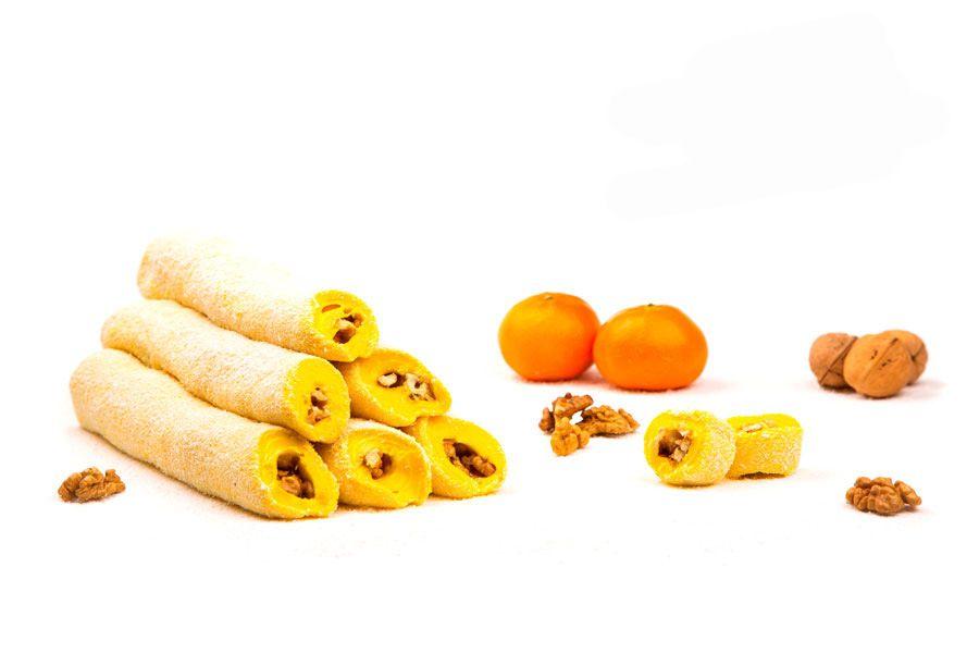 Суджух мандариновый с грецким орехом