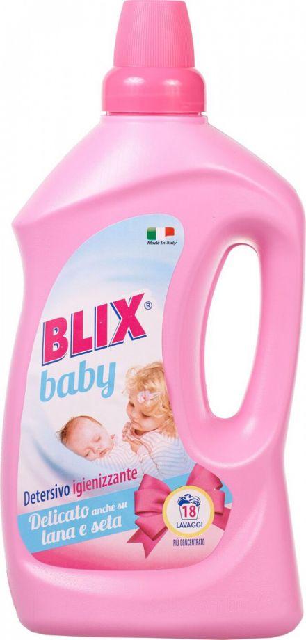 BLIX Средство для стирки с кондиционером. Для деликатных тканей и детской одежды, 1 л