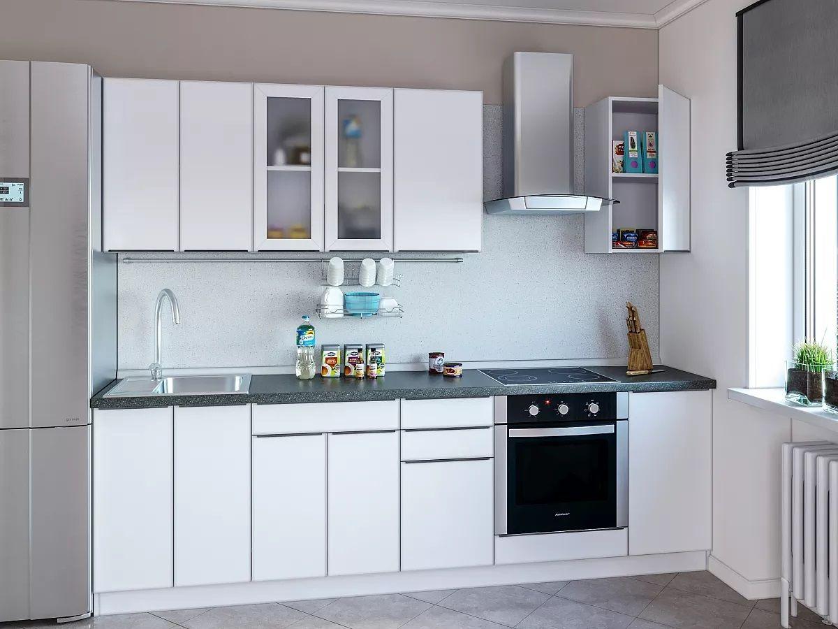 Кухня акрилит AL 2,6м