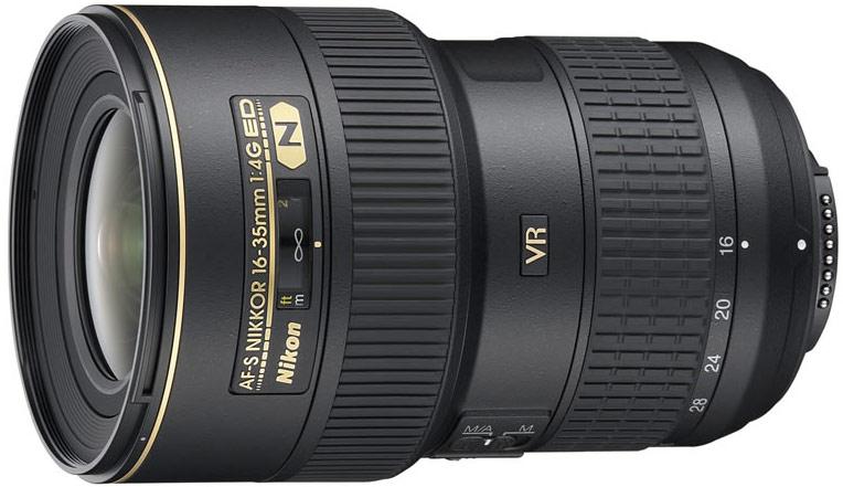 Nikon 16-35mm f/4.0G ED VR AF-S Nikkor