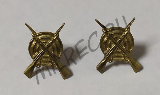 Петличные эмблемы пехоты РККА, 2 шт. в комплекте (реплика)