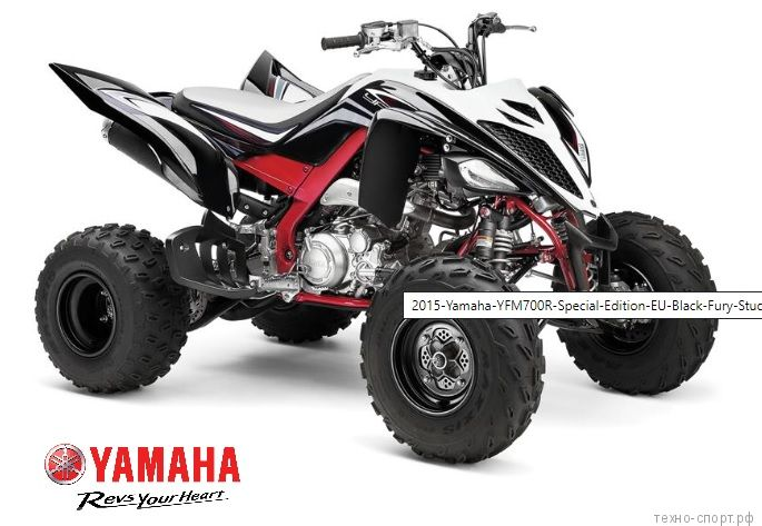 Квадроцикл Yamaha Raptor YFM 700R SE 2020 черный