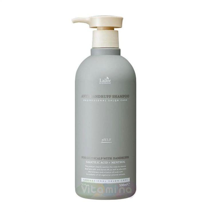 La'dor Слабокислотный шампунь против перхоти Anti Dandruff Shampoo, 530 мл