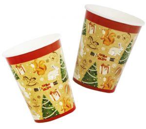 Набор стаканов Новогодних (6 шт)