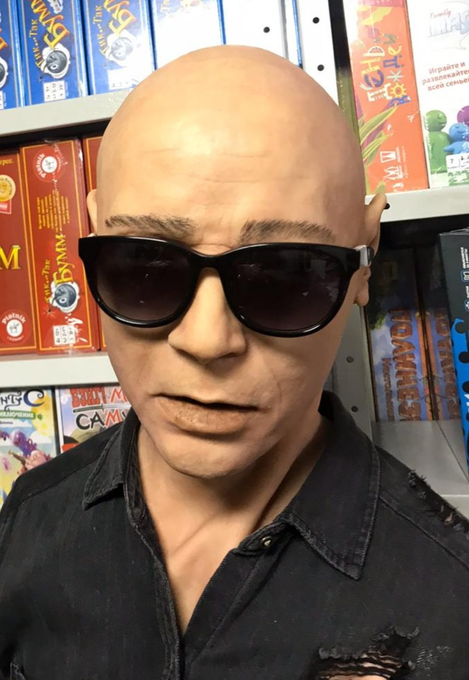 Реалистичная маска из латекса Мужик