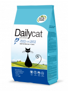 Dailycat ADULT Steri Lite Fish & Rice для взрослых стерилизованных кошек с рыбой и рисом (0,4кг)