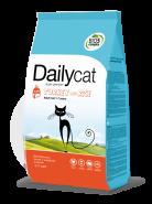 Dailycat ADULT Turkey & Rice для взрослых кошек с индейкой и рисом (3кг)