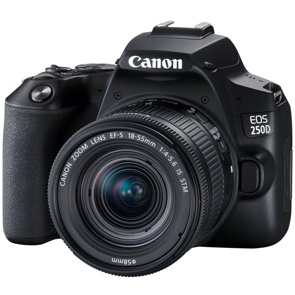 Canon EOS 250D EF-S 18-55 IS STM Kit Black