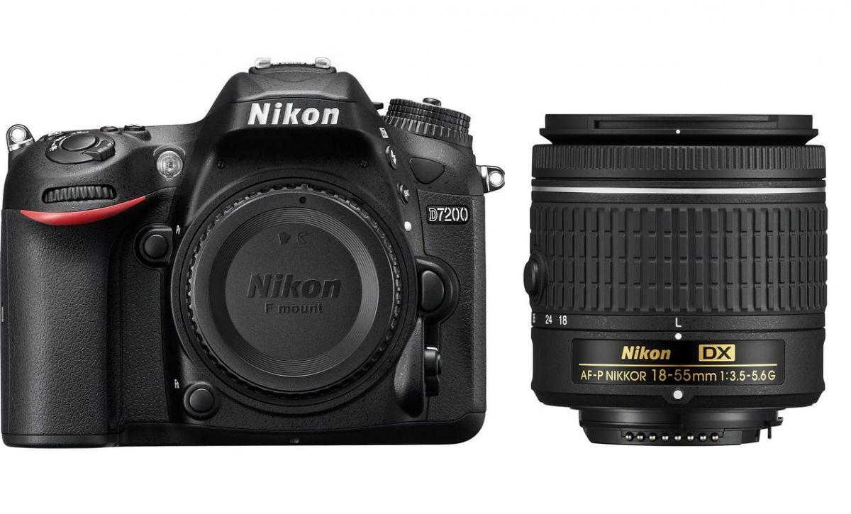 Nikon D7200 kit 18-55mm AFP-DX