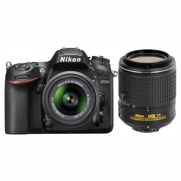 Nikon D7200 kit 18-55mm AFP-VR