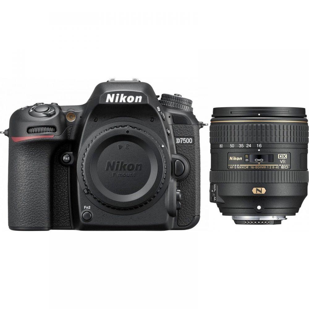 Nikon D7500 kit 16-80mm VR
