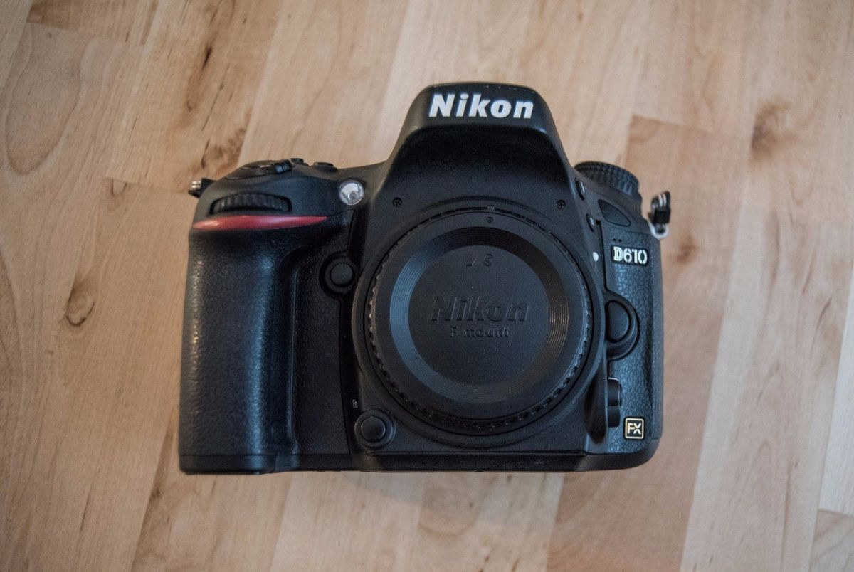 отоаппарат Nikon D610 Body (рус меню)