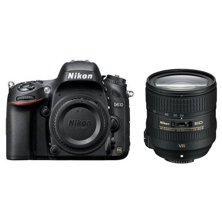 Nikon D610 Kit (24-85mm f/3.5-4.5G ED VR AF-S Nikkor