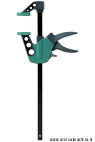 Мини-струбцина EHZ Easy, управляемые одной рукой  (диапазон зажима/распора 150/390мм)  Wolfcraft 3020000