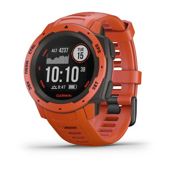 Часы Garmin Instinct Flame Red