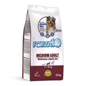Корм для взрослых собак средних и крупных пород, ягненок с рисом, 15 кг