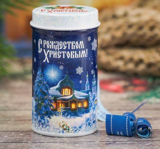 Баночка с предсказаниями рождественская ночь