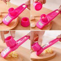 Терка для Чеснока Garlic Mixer, Цвет Розовый (4)