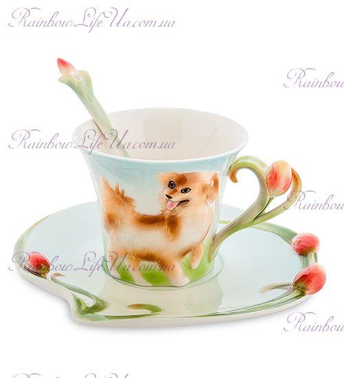 Чайная пара собака ''Pavone''
