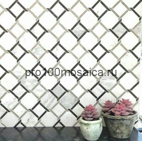 KRONOS. Мозаика серия Water Jet, размер, мм: 305*305*10 (ORRO Mosaic)