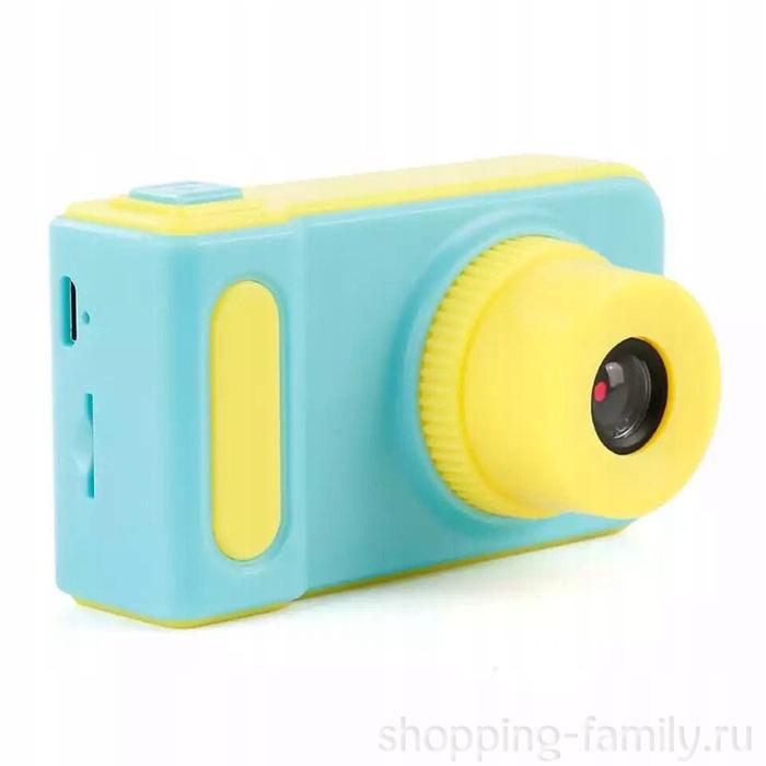Детский фотоаппарат цифровой Photo Camera Kids, Цвет Синий