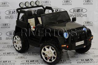 Детский электромобиль River Toys  JEEP M777MM