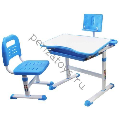 Растущие парта+стул Rifforma SET-17 с подставкой для книг