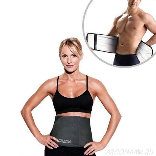 Термопояс для похудения с эффектом сауны Velform Sauna Slimmer