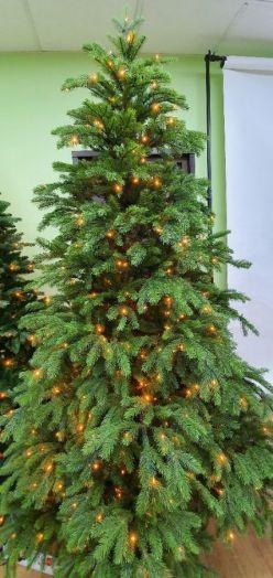 Искусственная елка Коттеджная 260 см 672 лампы зеленая